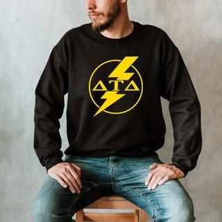 Delta Tau Delta Lightning Crew Sweatshirt