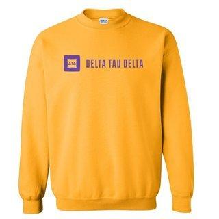 Delta Tau Delta Logo Crewneck Sweatshirt