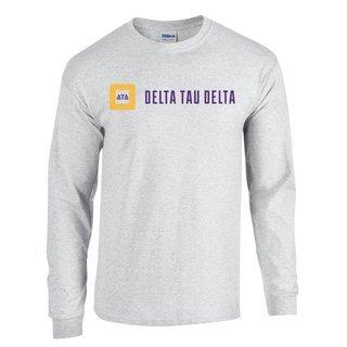 Delta Tau Delta Logo Long Sleeve Tee