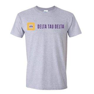 Delta Tau Delta Logo Short Sleeve Tee