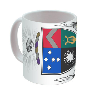 Delta Tau Delta Mega Crest - Shield Coffee Mug