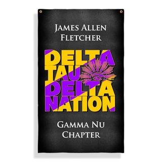 Delta Tau Delta Nations Giant Flag