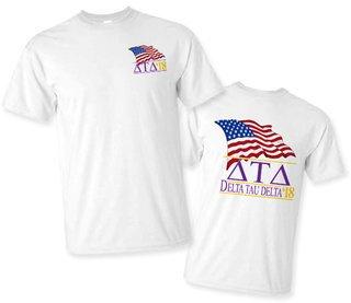 Delta Tau Delta Patriot Limited Edition Tee- $15!