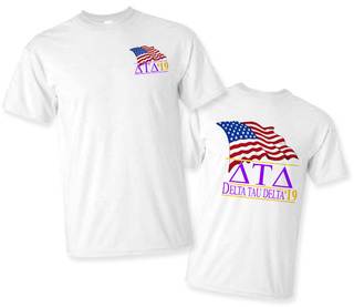 Delta Tau Delta Patriot Limited Edition Tee- $15!