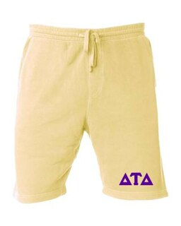 Delta Tau Delta Pigment-Dyed Fleece Shorts