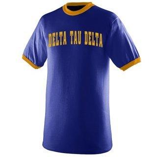 Delta Tau Delta Ringer T-shirt