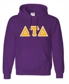 Delta Tau Delta Sewn Lettered Sweatshirts