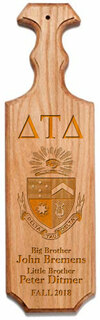 Delta Tau Delta Traditional Greek Paddle