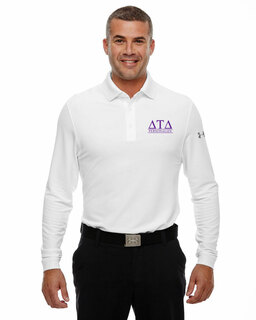 Delta Tau Delta Under Armour�  Men's Performance Long Sleeve Fraternity Polo