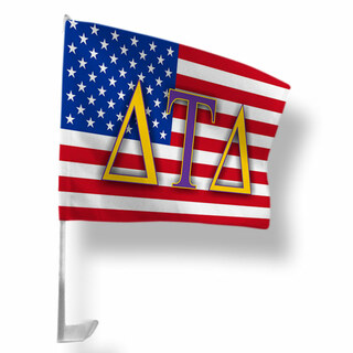Delta Tau Delta USA Car Flag