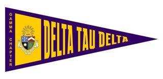 Delta Tau Delta Wall Pennants