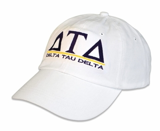 Delta Tau Delta World Famous Line Hat - MADE FAST!