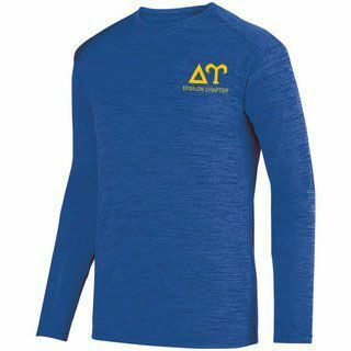 Delta Upsilon- $26.95 World Famous Dry Fit Tonal Long Sleeve Tee