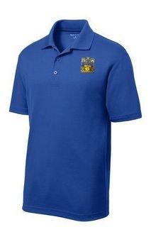 DISCOUNT-Delta Upsilon- World Famous Greek Crest - Shield Vital Polo