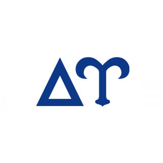 Delta Upsilon Big Greek Letter Window Sticker Decal