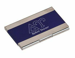 Delta Upsilon Business Card Holder
