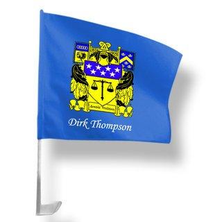Delta Upsilon Car Flag
