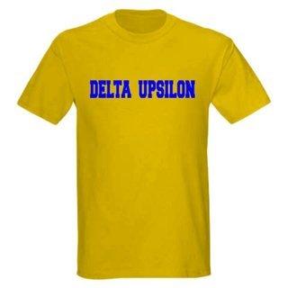 Delta Upsilon college tee