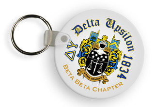 Delta Upsilon Color Keychains