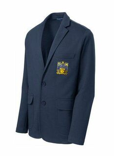 DISCOUNT-Delta Upsilon Crest - Shield Blazer