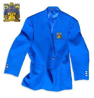 Delta Upsilon Crest - Shield Classic Blazer
