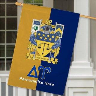 Delta Upsilon Crest House Flag