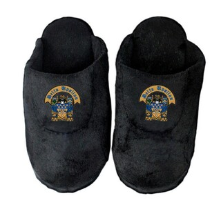 Delta Upsilon Crest Slippers