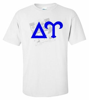 Delta Upsilon Crest - Shield Tee