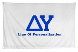 Delta Upsilon Custom Flag