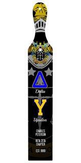 Delta Upsilon Custom Full Color Paddle