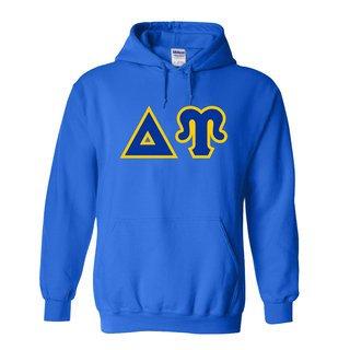 Delta Upsilon Discount Twill Hooded Sweatshirt