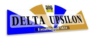 Delta Upsilon Display Sign