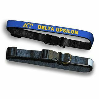 Delta Upsilon Dog Collar