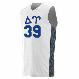 Delta Upsilon Fast Break Game Basketball Jersey