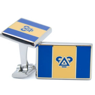 Delta Upsilon Flag Cufflinks