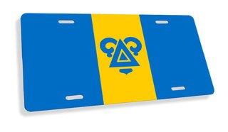 Delta Upsilon Flag License Cover