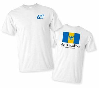 Delta Upsilon Flag T-Shirt