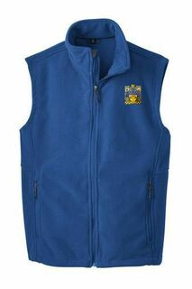 Delta Upsilon Fleece Crest - Shield Vest
