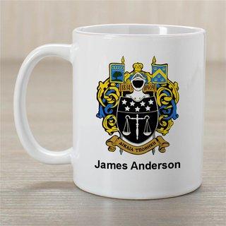 Delta Upsilon Greek Crest Coffee Mug - Personalized!
