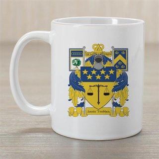 Delta Upsilon Greek Crest Coffee Mug