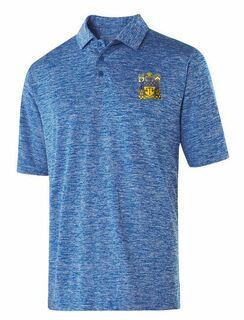 Delta Upsilon Greek Crest Emblem Electrify Polo