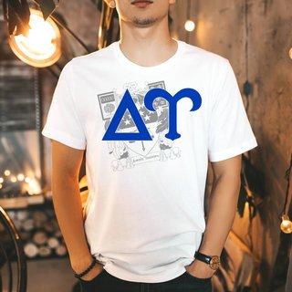 Delta Upsilon Greek Crest - Shield T-Shirt