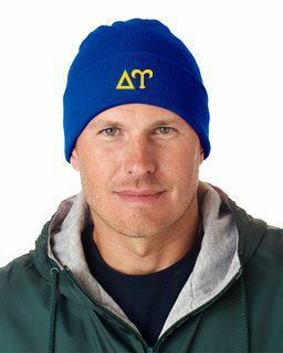 Delta Upsilon Greek Letter Knit Cap