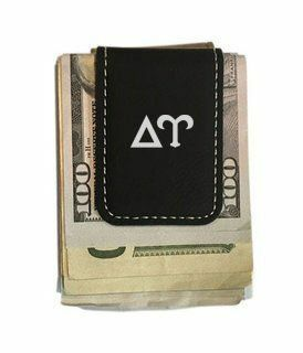 Delta Upsilon Greek Letter Leatherette Money Clip