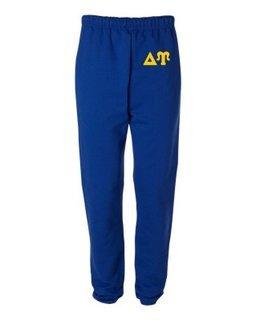 Delta Upsilon Greek Lettered Thigh Sweatpants