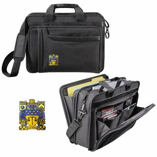 DISCOUNT-Delta Upsilon Crest - Shield Briefcase Attache