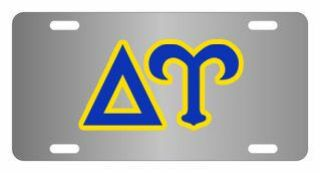 Delta Upsilon Lettered License Cover