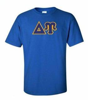 Delta Upsilon Lettered T-shirt - MADE FAST!