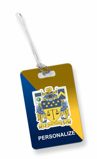 Delta Upsilon Luggage Tag