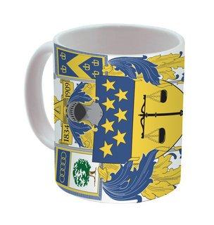 Delta Upsilon Mega Crest - Shield Coffee Mug